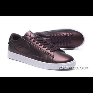 Nike Blazer Low Women's LE White Metallic Bronze